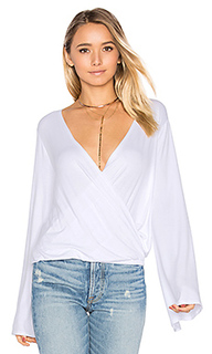 Bell sleeve surplice top - Chaser