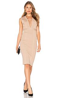 Платье с панелями jourdan - Bardot