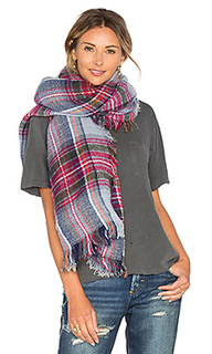 Клетчатый шарф - IKKS Paris