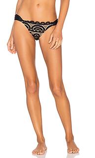 Lace fanned teeny bikini bottom - PILYQ