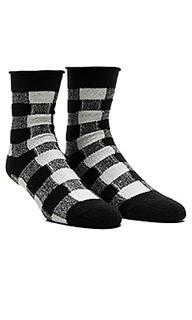 Thin rolled fleece sock - Plush