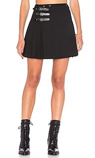 Buckle pleat skirt - McQ Alexander McQueen