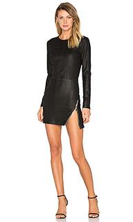 Кожаное платье yves - RtA