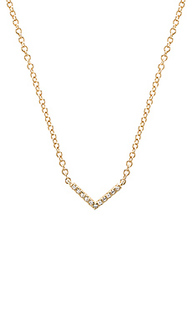 Mini chevron necklace - EF COLLECTION