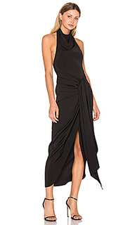 Voltaire backless draped midi dress - Shona Joy