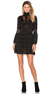 Mckinney pleat lace dress - Ganni