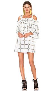 Chateau frill mini dress - Shona Joy