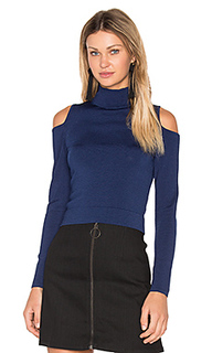 Irving place cold shoulder crop top - Central Park West