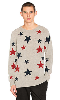 Свитер star pattern crewneck - Scotch & Soda