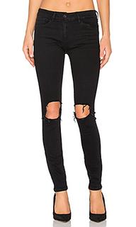 Состаренные облегающие джинсы - 3x1
