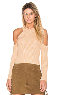 Cold shoulder knit - Bardot