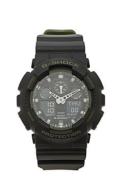 Часы ga-100 military series - G-Shock