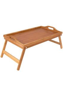 Столик сервировочный 50х30х6,5 Regent Inox