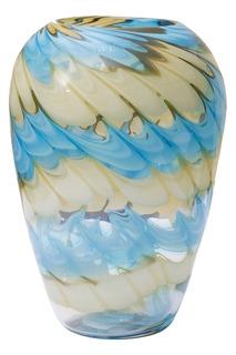 Стеклянная ваза 27 см Garda Decor