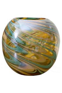 Стеклянная ваза 23 см Garda Decor