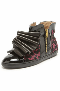 Ботинки с жабо Bouton