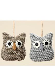 Набор из 4-х украшений Owl Boltze