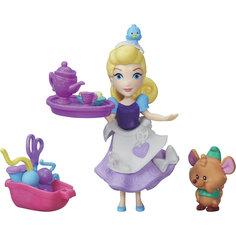 """Игровой набор """"Маленькая кукла Принцесса и ее друг"""" Золушка и мышонок Гас, B5331/B5333 Hasbro"""