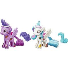 """Сумеречная Искорка и Селестия, стильные пони """"Создай свою пони"""", My little Pony, B3589/B4971 Hasbro"""