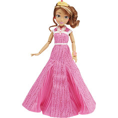 Кукла Одри, светлые герои в платьях для коронации, Наследники, Disney, B3123/B3124 Hasbro