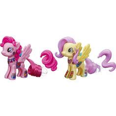 """Флаттершай и Пинки Пай, стильные пони """"Создай свою пони"""", My little Pony, B3589/B4970 Hasbro"""