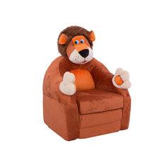 """Раскладывающееся кресло-игрушка """"Лев"""" СмолТойс"""