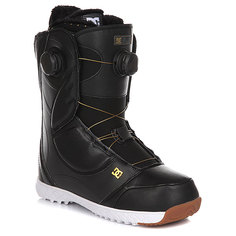 Ботинки для сноуборда женские DC Mora Black/Gold