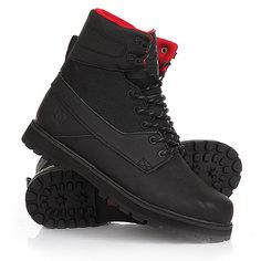Ботинки высокие DC Uncas Black