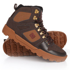 Ботинки высокие DC Spartan High Wr Brown/Red