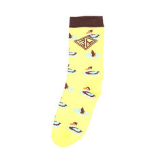 Носки средние женские Запорожец Утки Желтый