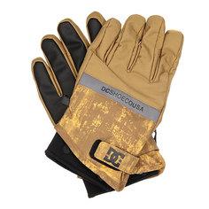 Перчатки сноубордические DC Mizu Glove Dull Gold