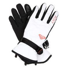 Перчатки сноубордические женские Roxy Rxjettysolidglv Bright White