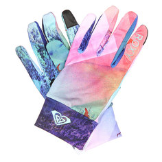 Перчатки женские Roxy Liner Gloves Mystic Mountains Bright