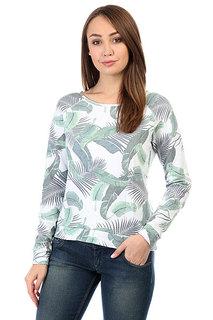 Толстовка свитшот женская Rip Curl Palm Island Fleece Optical White