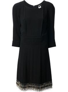 плиссированное платье-шифт Azzaro