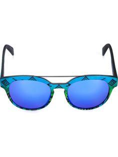 солнцезащитные очки с комбинированным принтом Italia Independent