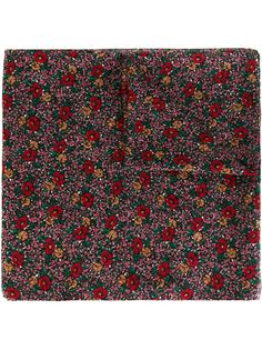 шарф с цветочным принтом Saint Laurent
