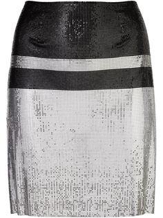 мини-юбка из кольчуги Paco Rabanne