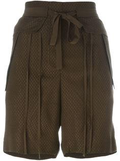 плетеные шорты Chloé