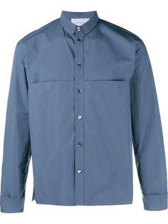 свободная рубашка со складкой на груди Stephan Schneider