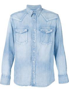 джинсовая рубашка Visvim