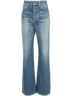джинсы с завышенной талией Visvim