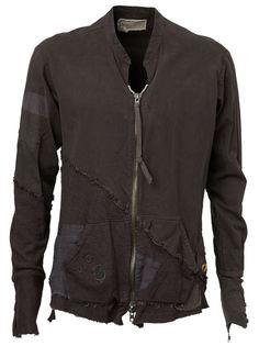 куртка в стиле пэчворк  Greg Lauren