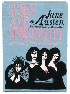 клатч-книга 'Sense and Sensibility'  Olympia Le-Tan