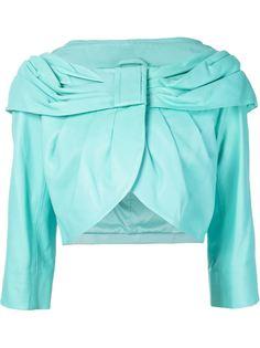 пиджак с драпированным воротником Boutique Moschino