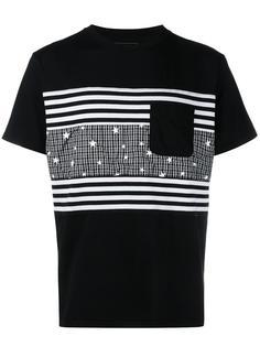 футболка в стиле пэчворк  Uniform Experiment
