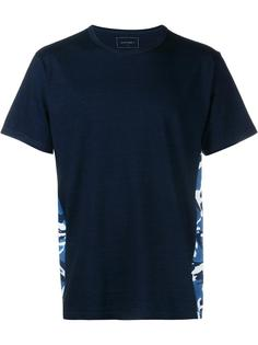 футболка с контрастной панельной вставкой Sophnet.
