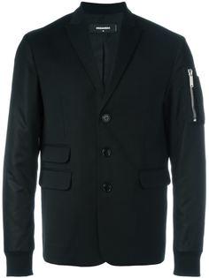 куртка-бомбер с лацканами Dsquared2