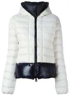 двухцветная стеганая куртка-пуховик Duvetica