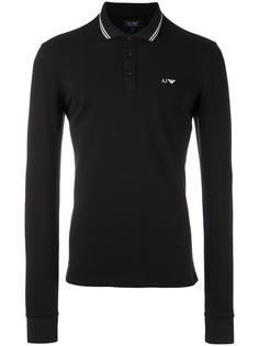 рубашка-поло с логотипом Armani Jeans